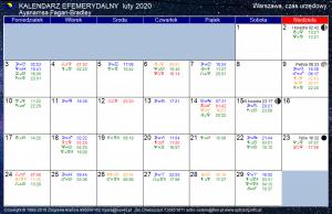 Kalendarz astrologiczny na luty 2020 r. (Zodiak gwiazdowy)